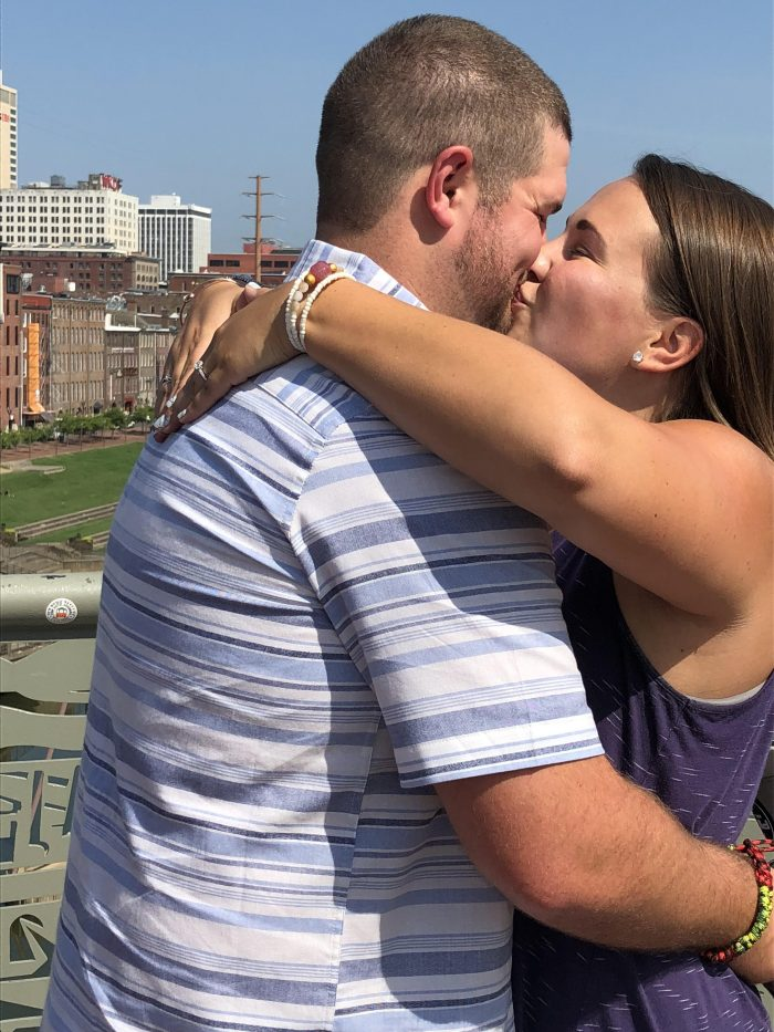 Wedding Proposal Ideas in Nashville, Tennessee on the Pedestrian