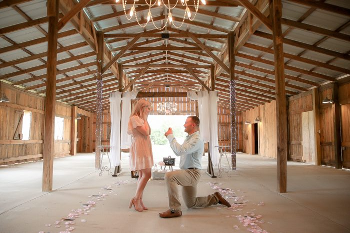 Sarah Noelle and Brett's Engagement in The Stables, Vancleave, MS