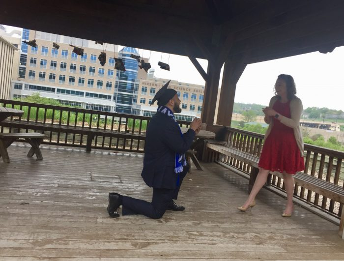 Where to Propose in Creighton University, Omaha Nebraska