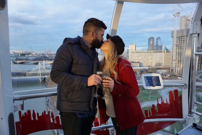 Sandra's Proposal in London