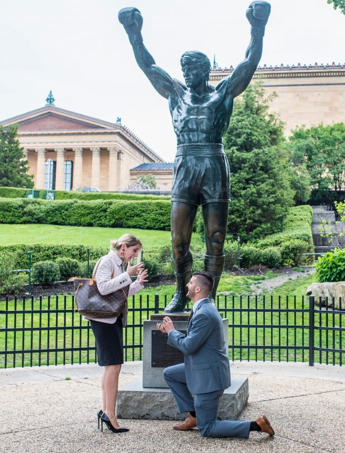 Where to Propose in Philadelphia Museum of Art