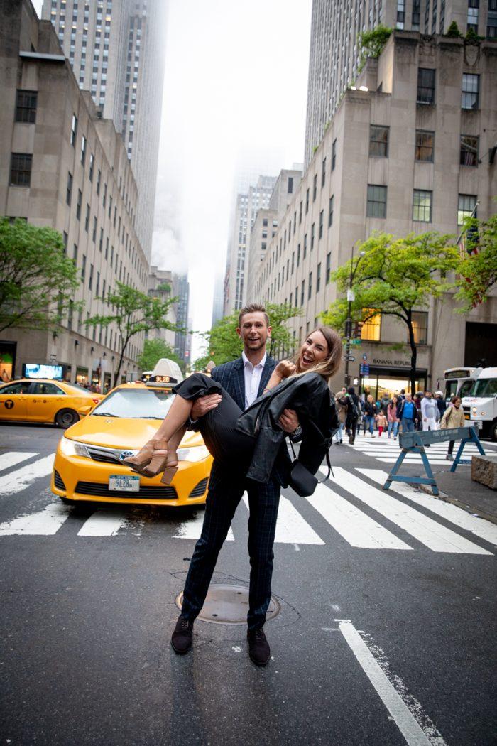 Marriage Proposal Ideas in Rockefeller Center in New York City
