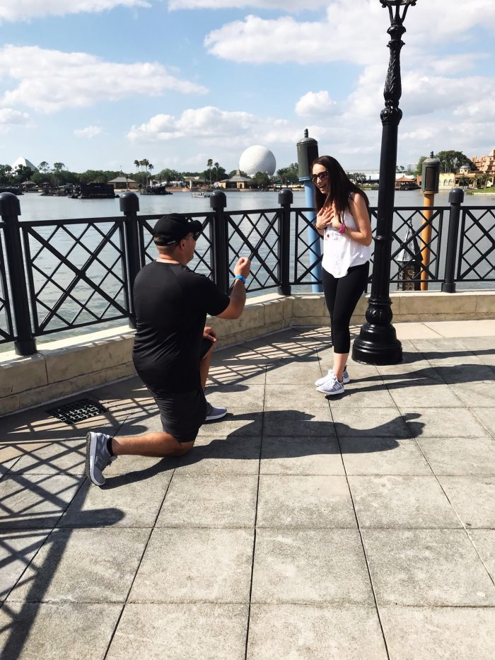 Marriage Proposal Ideas in Disney Ecpot