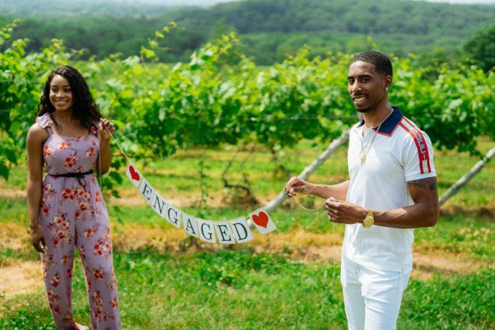 Marriage Proposal Ideas in Vineyard