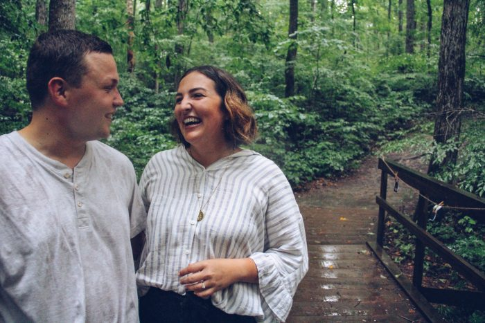 Morgan and Nick's Engagement in Eatonton, Ga