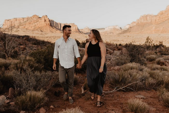Wedding Proposal Ideas in Zion National Park