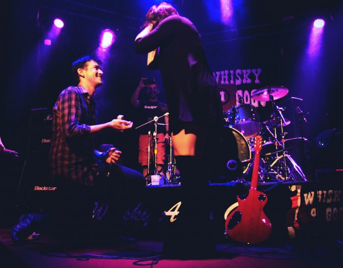 Marriage Proposal Ideas in Whisky A Go Go in Los Angeles