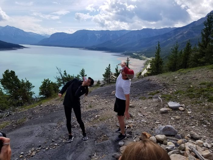 Where to Propose in Abraham Lake, Alberta, Canada