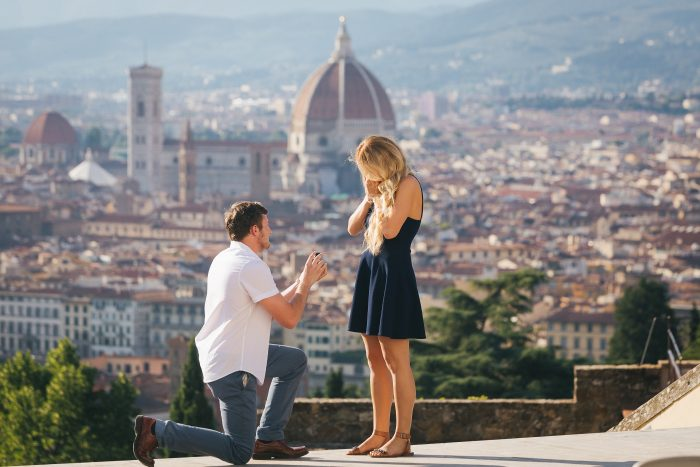 Wedding Proposal Ideas in Florence , Italy