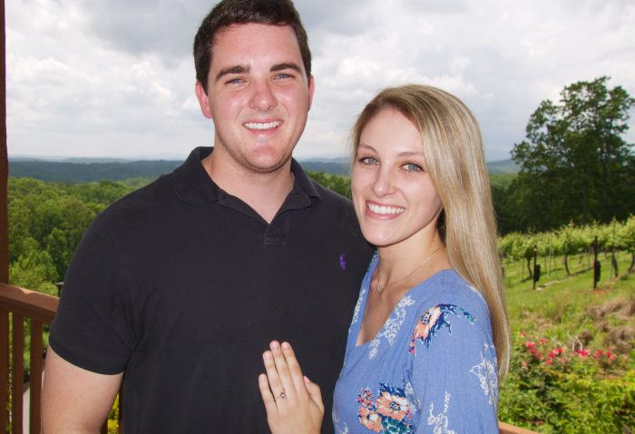 Marriage Proposal Ideas in Wolf Mountain Vineyard Winery
