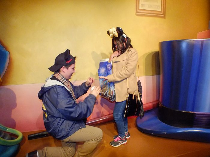 Where to Propose in Disneyland, California