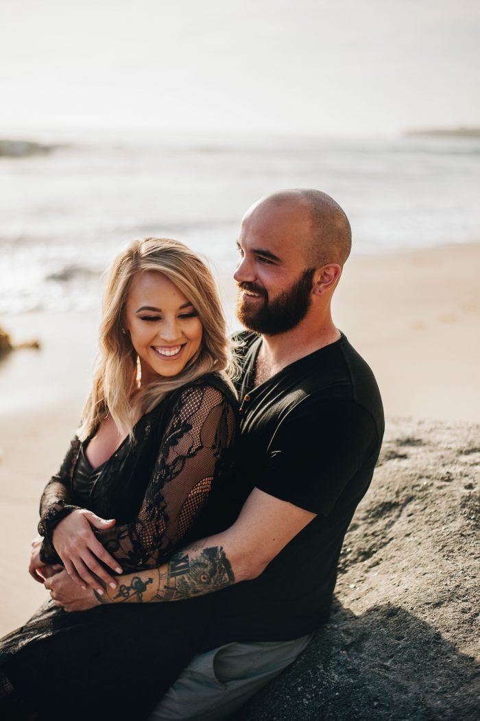 Alexis and Cole's Engagement in Capri, Italy