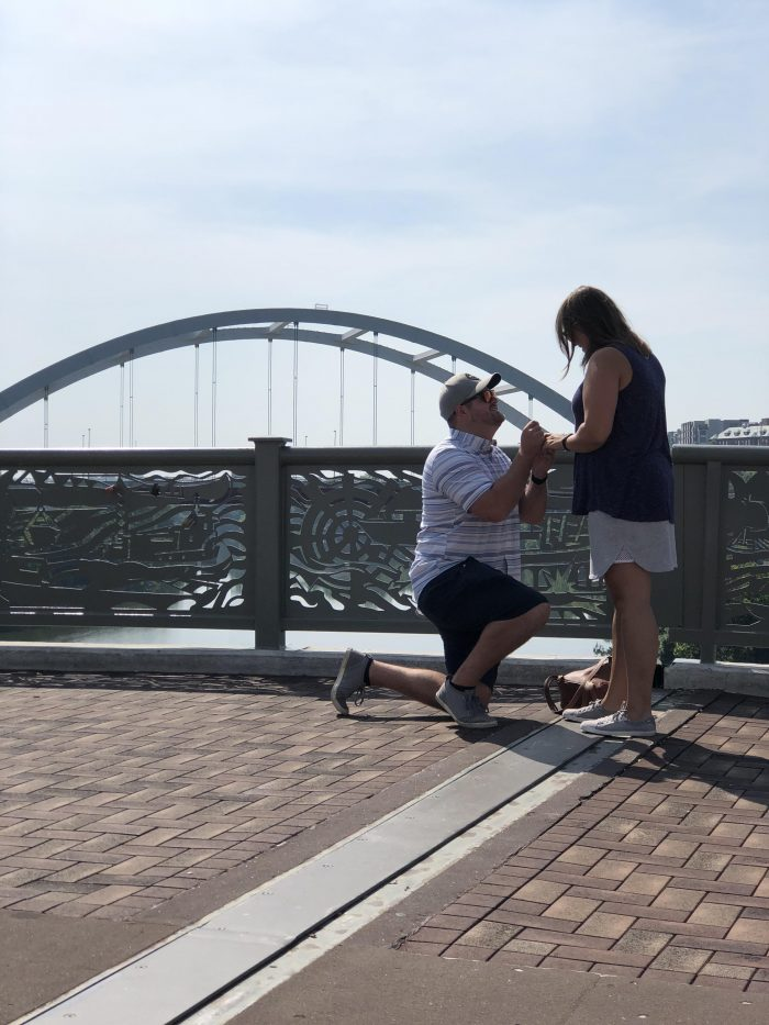 Where to Propose in Nashville, Tennessee on the Pedestrian