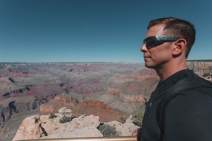 Sabrina and Leif's Engagement in Grand Canyon National Park
