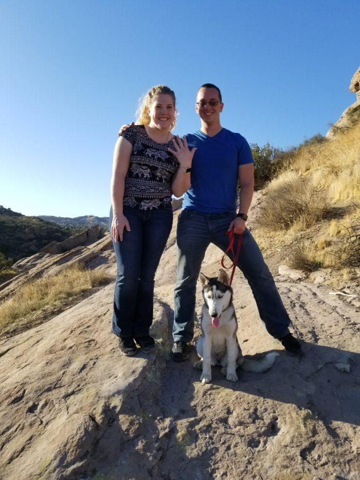 Marriage Proposal Ideas in Vasquez Rocks