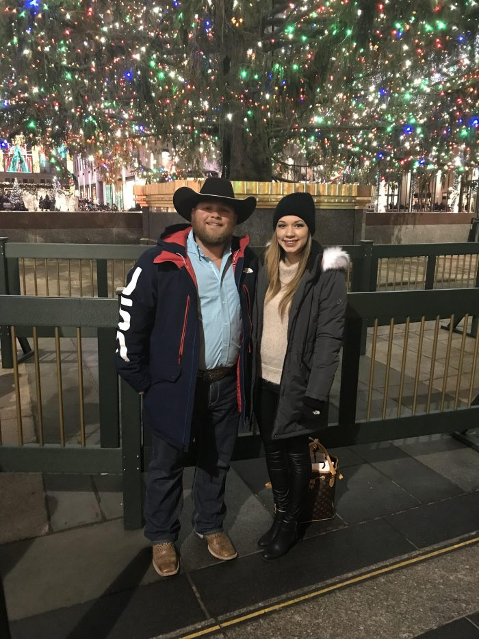 Wedding Proposal Ideas in Under the Christmas tree at Rockefeller in NYC