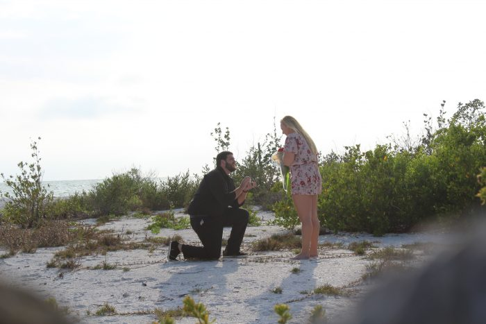Desere and Jacob's Engagement in Lovers Key State Park