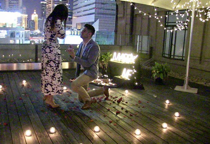 Maria Fernanda and César 's Engagement in Museum of Shanghai, Shanghai China