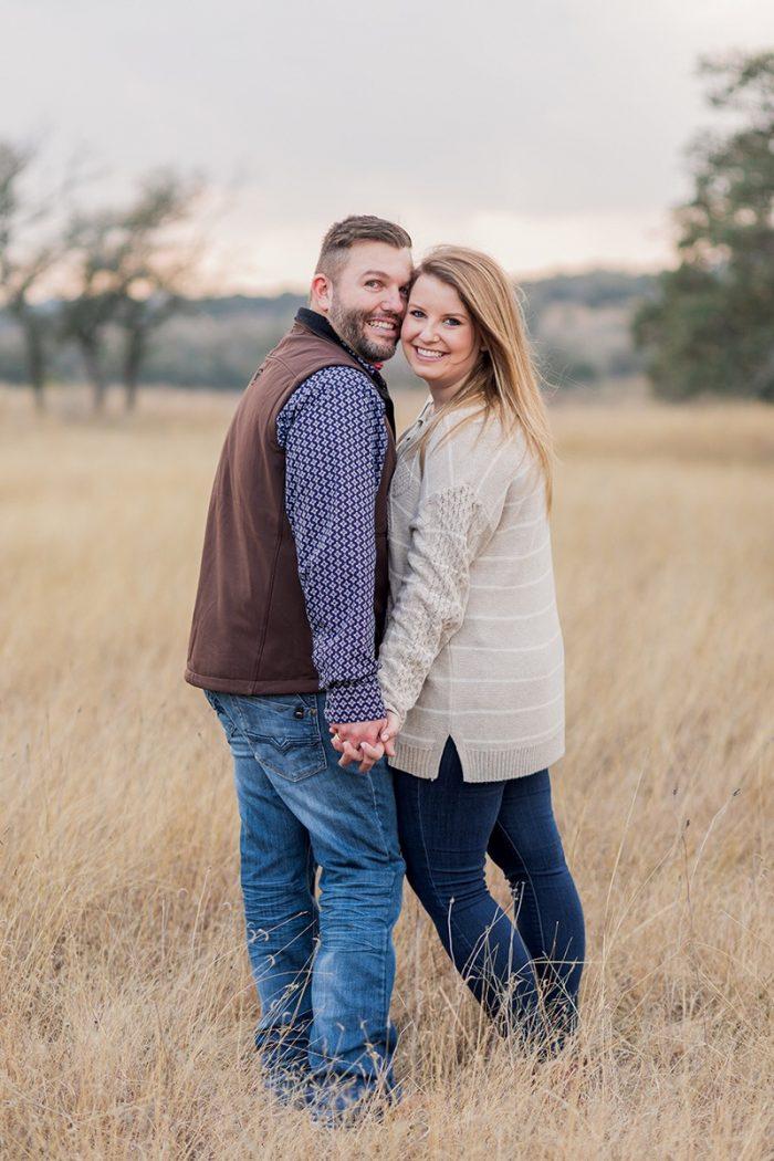 Ashley and Braden's Engagement in Treaty Oaks Distillery