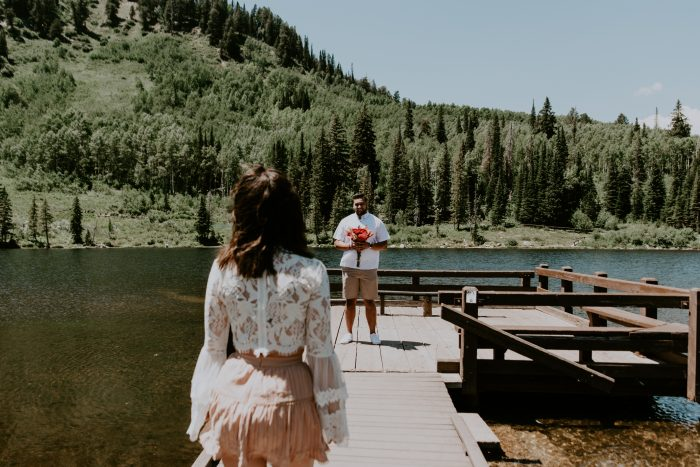 Where to Propose in Big Cottonwood Canyon, Utah