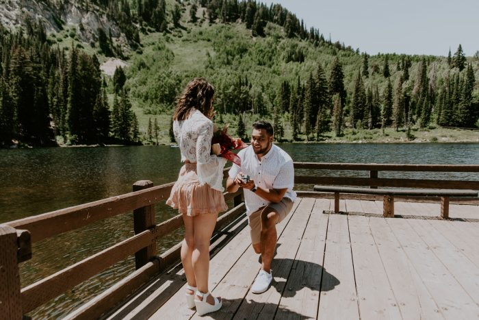 Kate's Proposal in Big Cottonwood Canyon, Utah