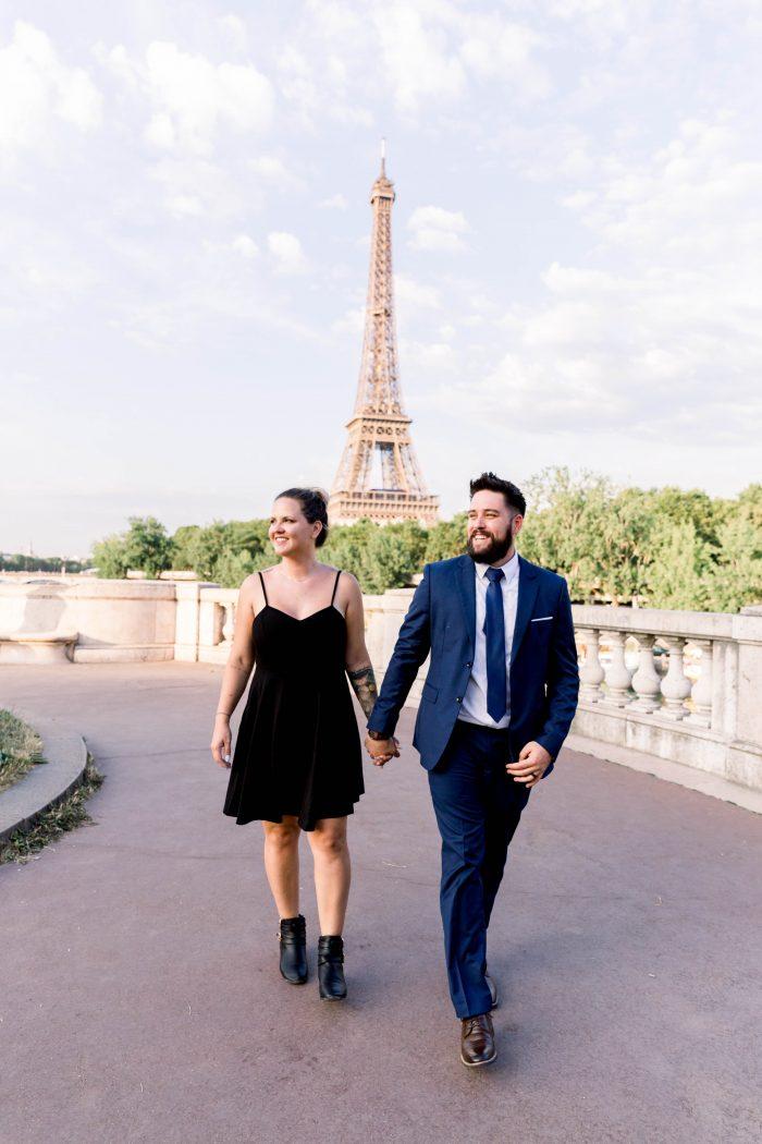 Sara's Proposal in Paris, France
