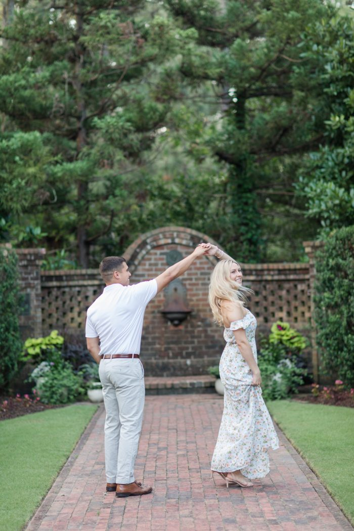 Lauren and Nick's Engagement in Southern Pines, North Carolina