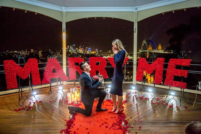 Marriage Proposal Ideas in Sydney Australia