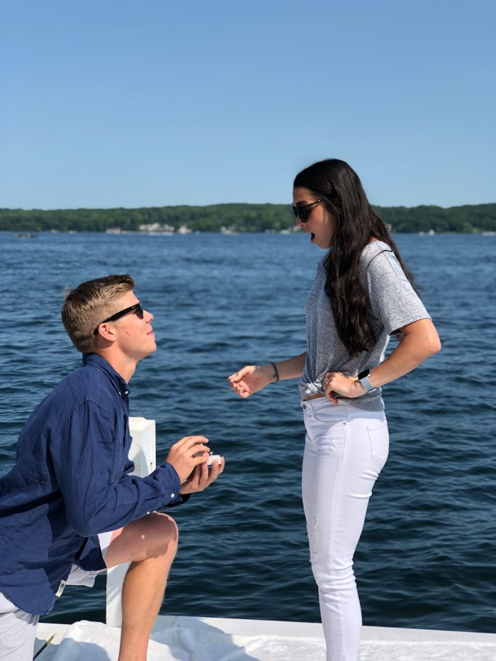 Where to Propose in Lake Geneva, Wisconsin