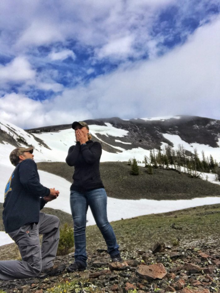 Where to Propose in Yellowstone National Park-Avalanche Peak