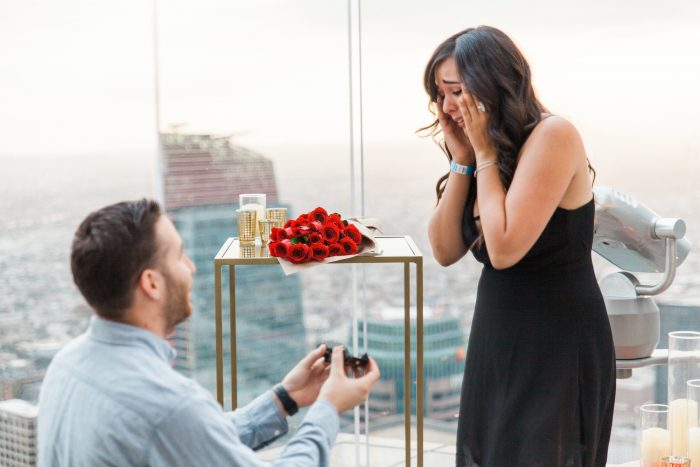Where to Propose in OUE Skyspace LA