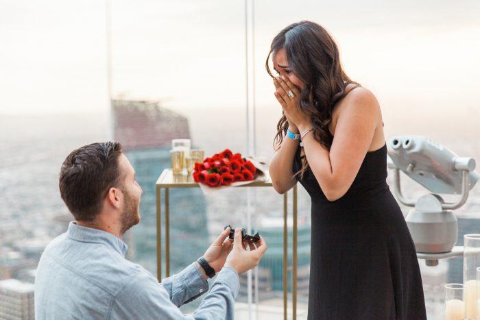 Wedding Proposal Ideas in OUE Skyspace LA