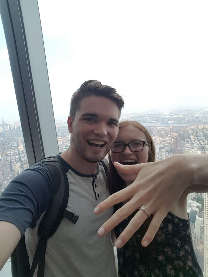 Wedding Proposal Ideas in World Trade Center - New York City
