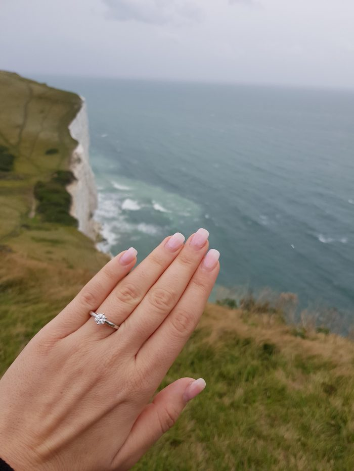 Wedding Proposal Ideas in cliffs of Dover, Kent UK