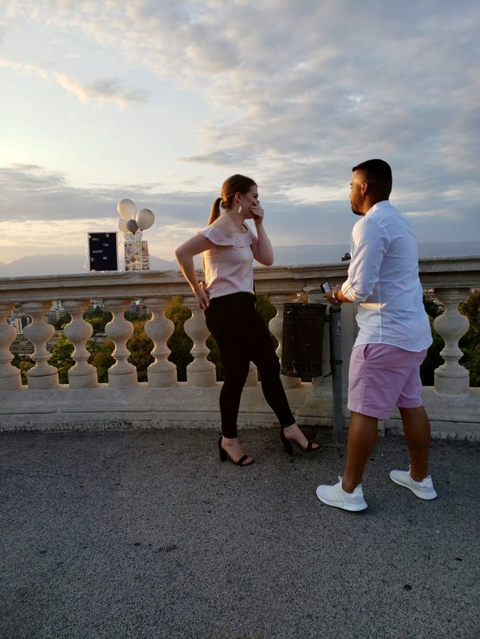 Wedding Proposal Ideas in Vicenza Italy