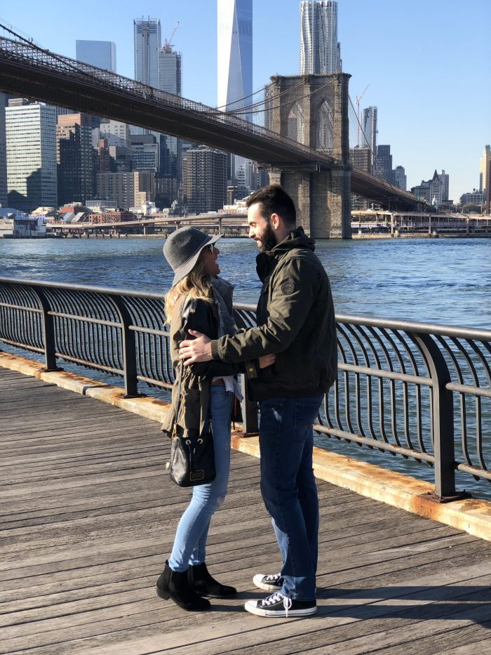 Marriage Proposal Ideas in Brooklyn Bridge Park