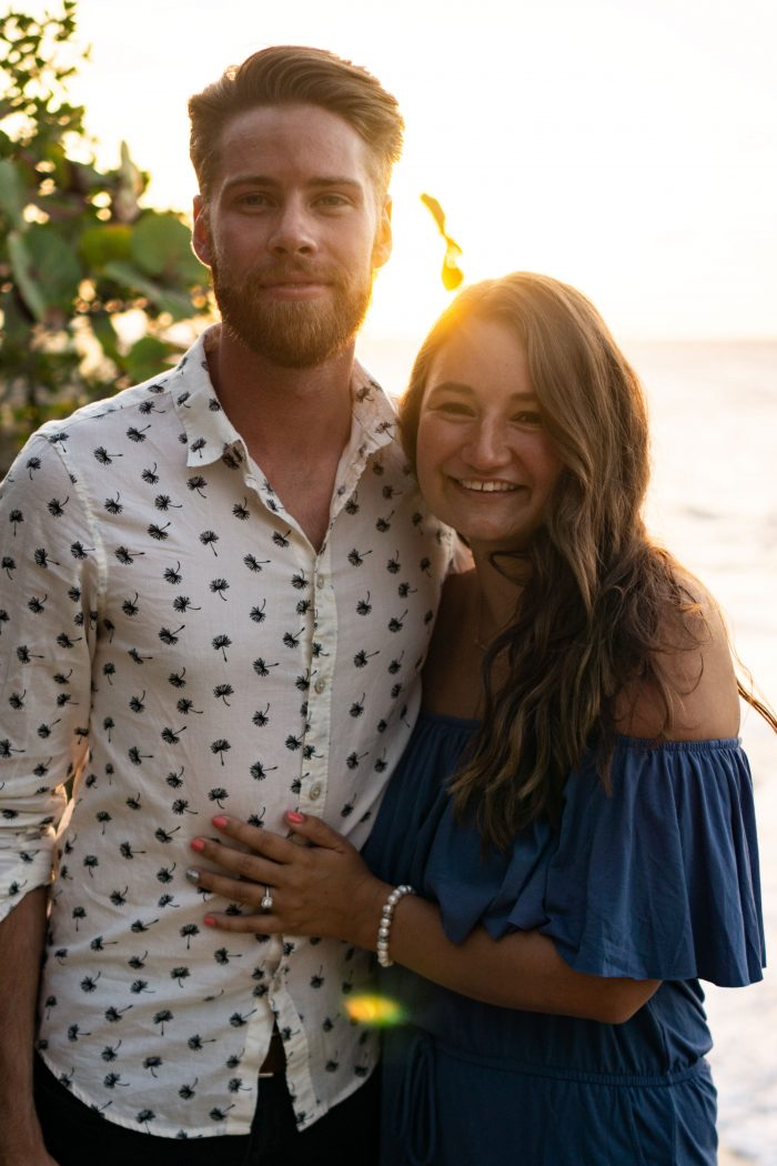 Jasmine and James's Engagement in In Dominican Republic where we have been living and working for the last 2 years together
