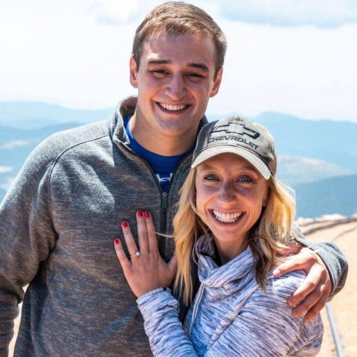 Nicole's Proposal in Pikes Peak Summit, CO