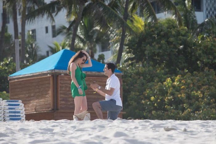 Wedding Proposal Ideas in Soho Beach House Miami Beach, FL
