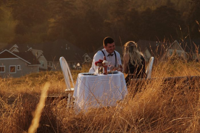 Wedding Proposal Ideas in Atop a lovely hillside on the outskirts of Newberg, OR