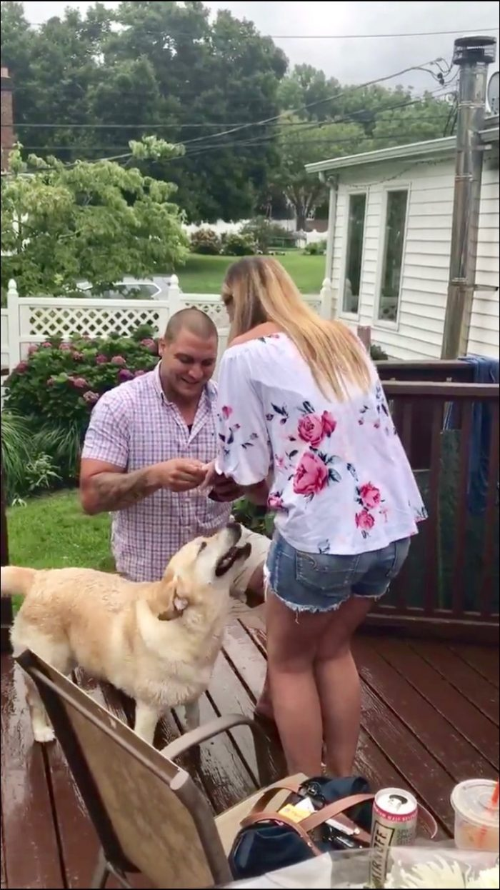 Lauren's Proposal in My houae