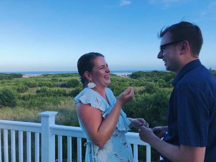 Where to Propose in Brigantine, New Jersey on family vacation