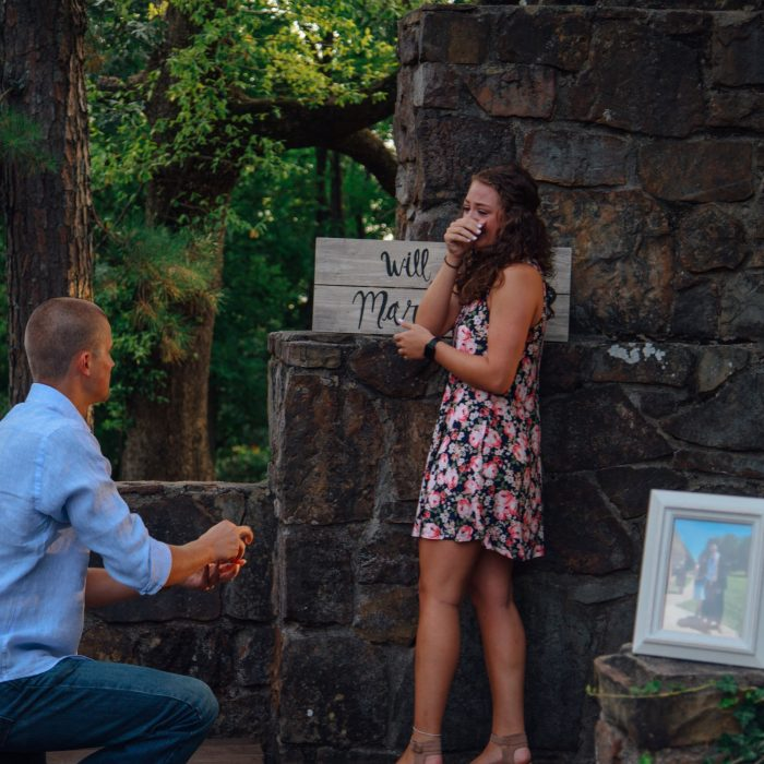 Maddie's Proposal in Fayetteville, AR