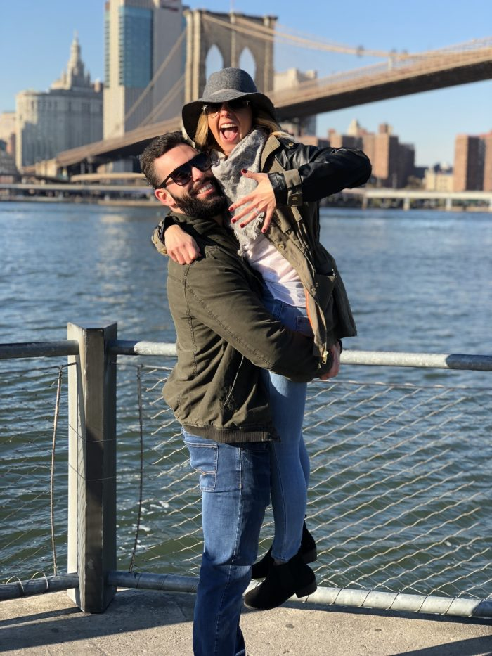 Stephanie's Proposal in Brooklyn Bridge Park