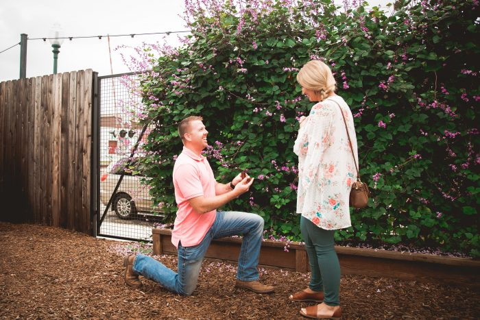 Jade and Steven's Engagement in Waco, Texas - Magnolia Market @ the Silos