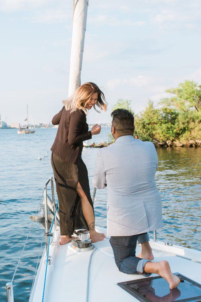 Creselda's Proposal in Toronto, Ontario