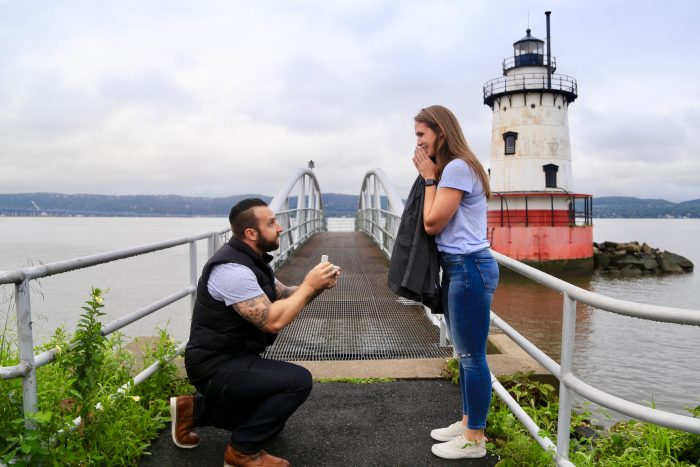 Marriage Proposal Ideas in Tarrytown Lighthouse, Tarrytown NY