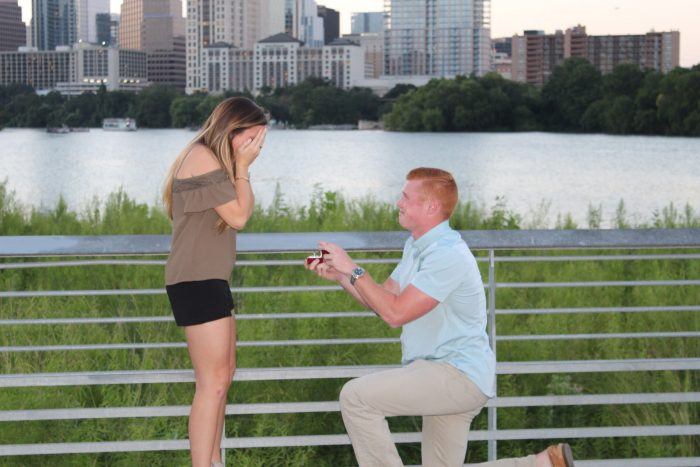 Marriage Proposal Ideas in Lady bird lake in Austin