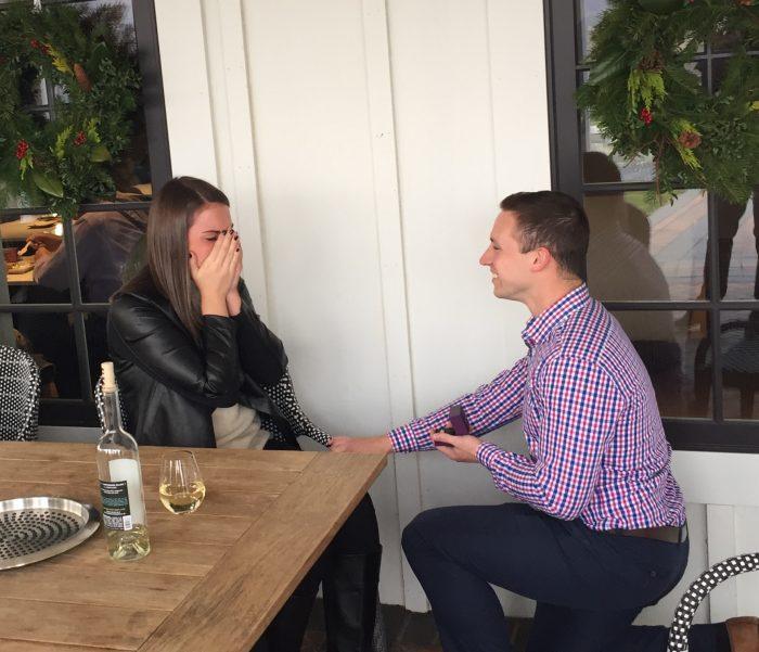 Megan and Seth's Engagement in Big Cork Vineyards, Rohrersville, Maryland