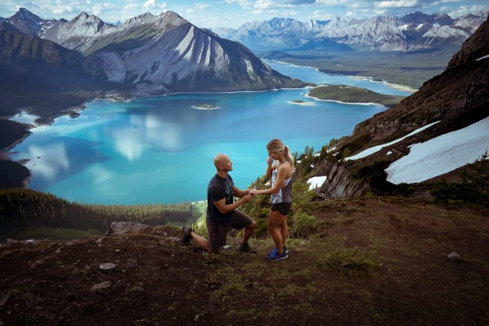 Engagement Proposal Ideas in Sarrail Ridge, Alberta, Canada